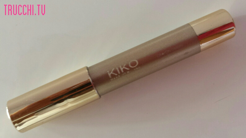 kiko daring game 2014 color-up long lasting eyeshadow n 11 charming champagne