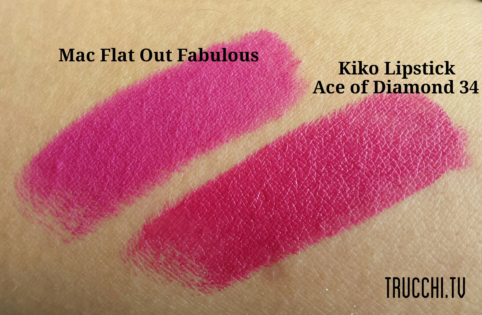kiko makeup swatches daring game lipsticks