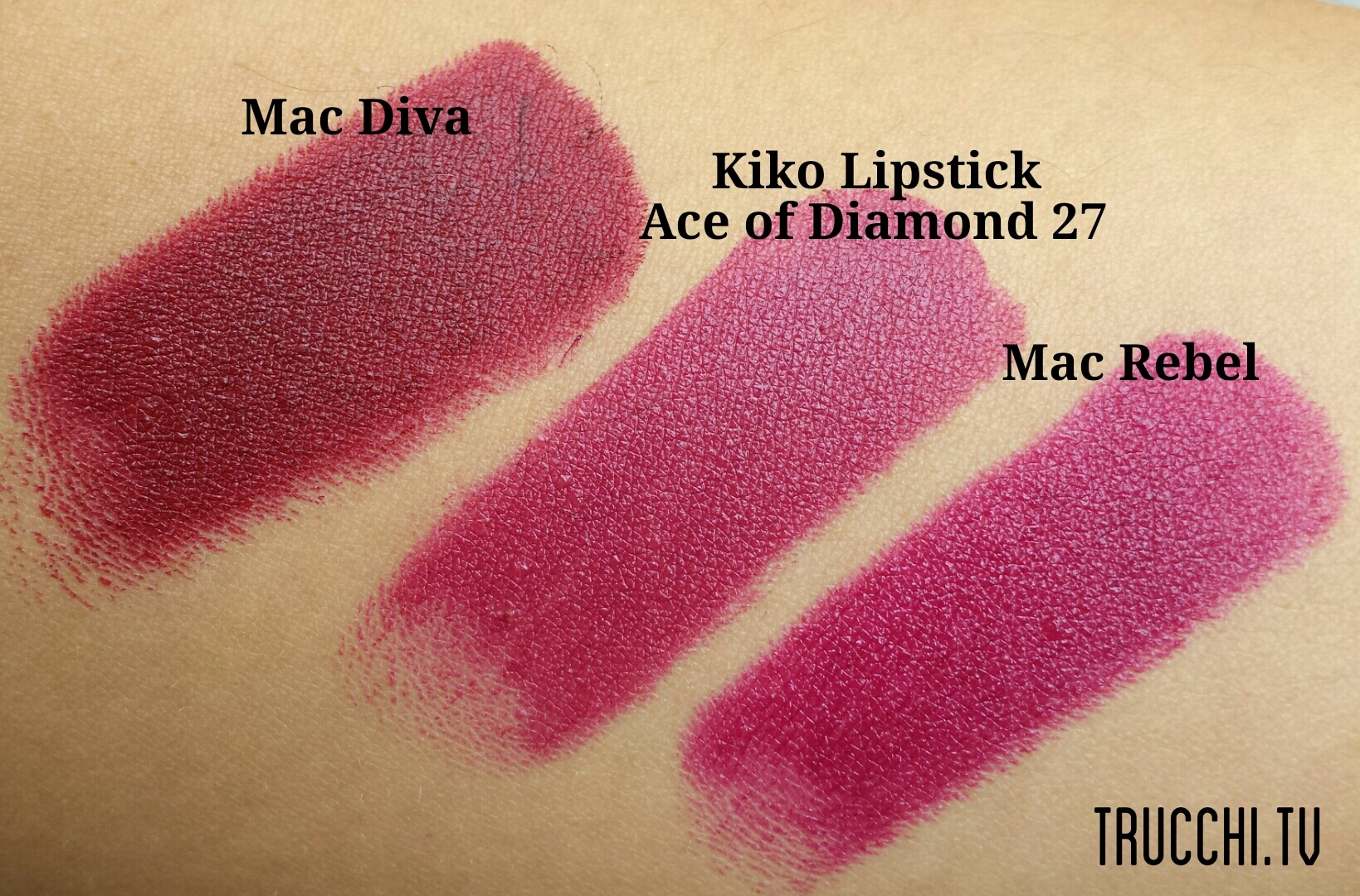 kiko daring game lipsticks swatches