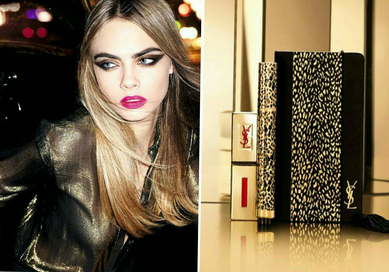 YSL Wildly Gold Natale 2014
