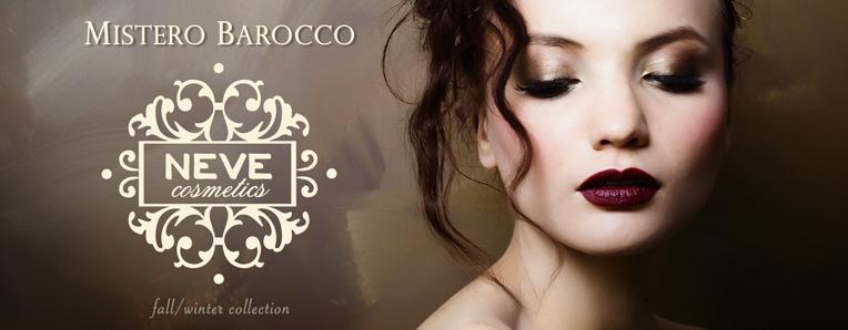 Mistero Barocco - La nuova collezione makeup Neve Cosmetics