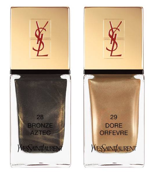 YSL Wildly Gold La Lacque Couture