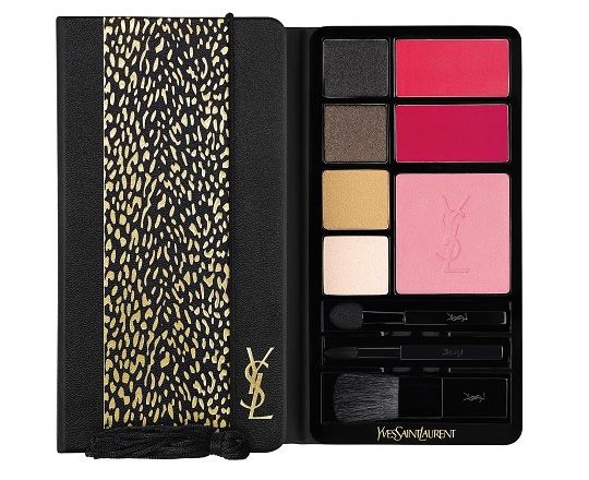 YSL wildly gold holiday collection natale 2014 palette