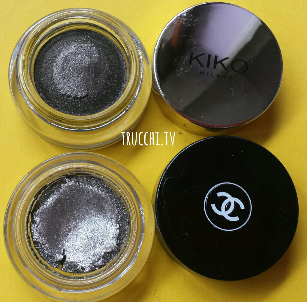 chanel illusion d'ombre vs kiko supreme eyeshadow 1