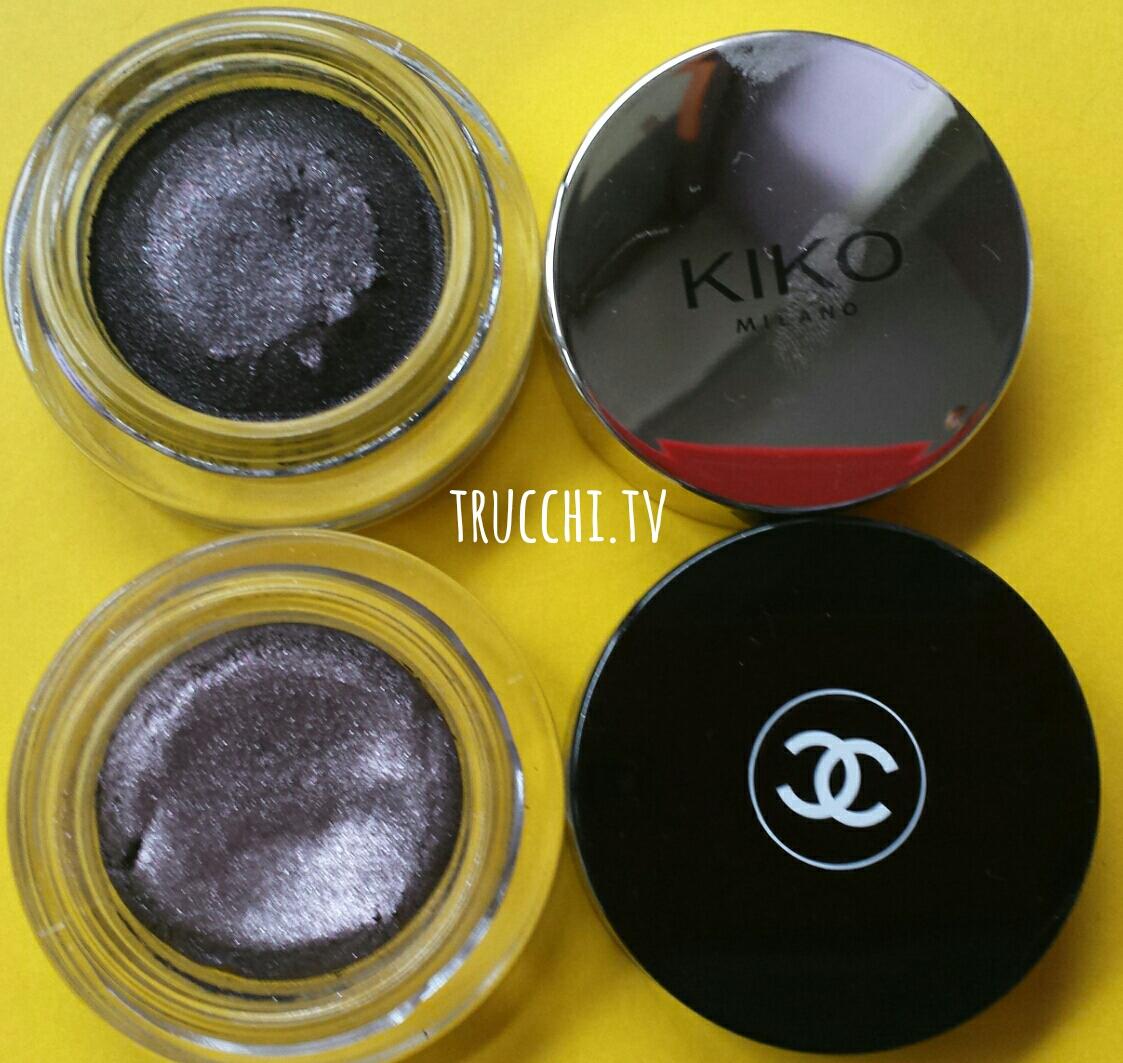 chanel illusion d'ombre vs kiko supreme eyeshadow