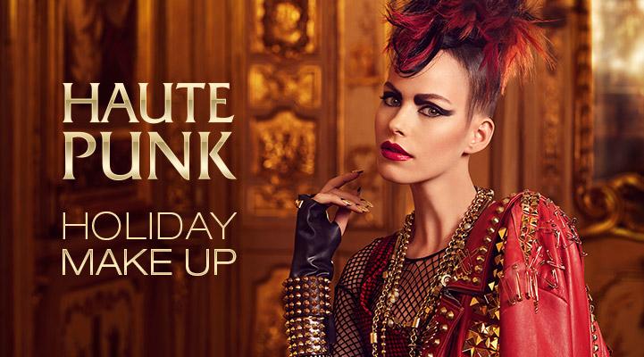 kiko haute punk holiday makeup
