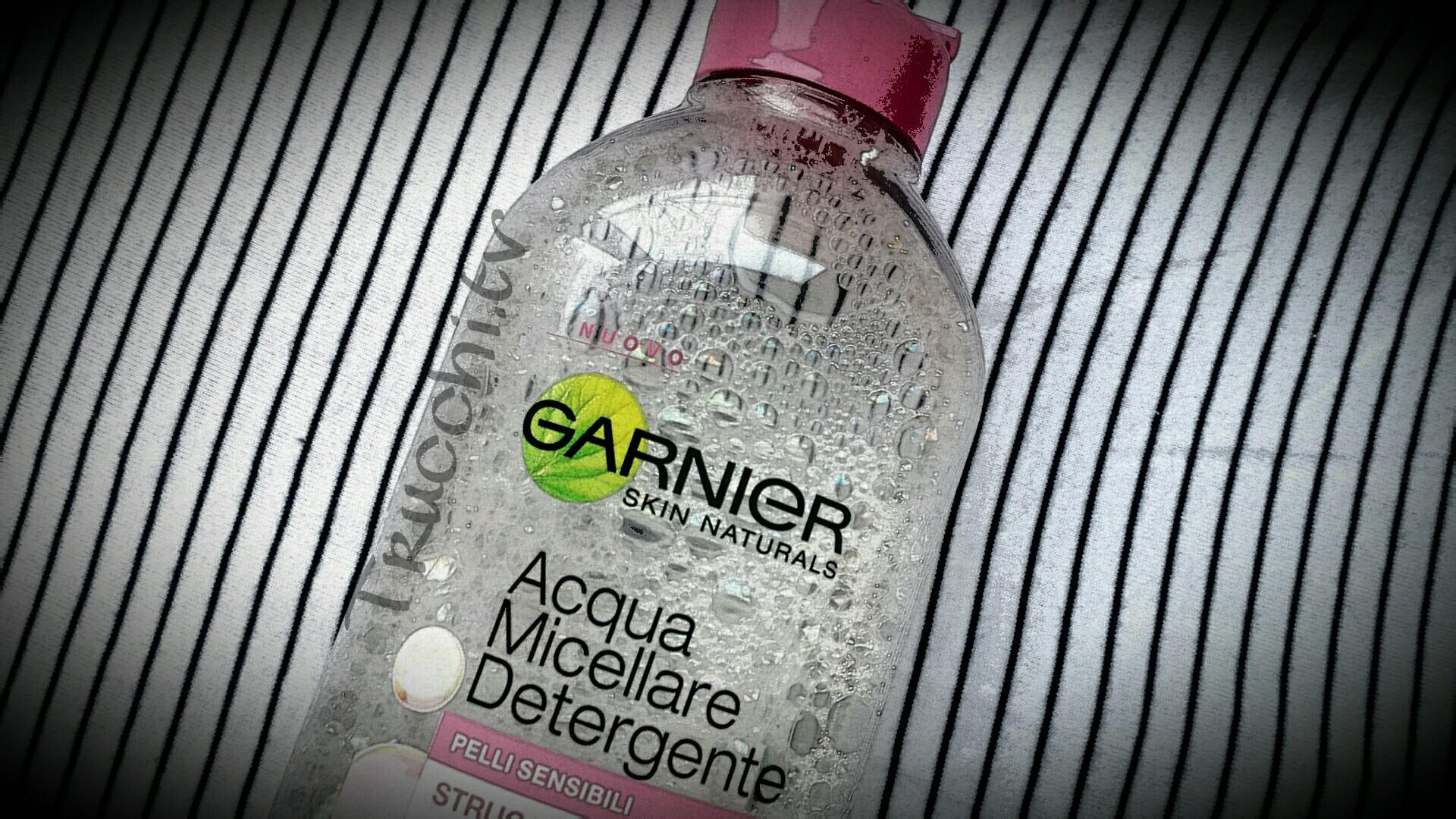 Acqua micellare detergente garnier