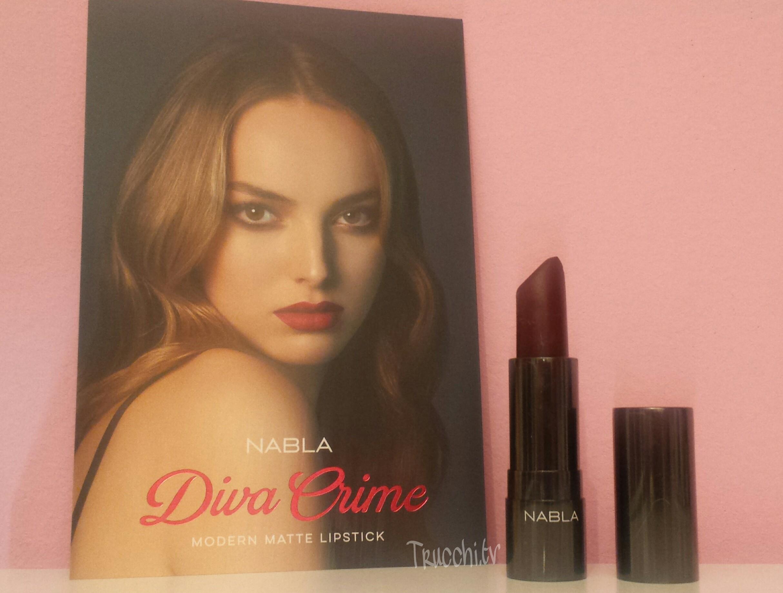 Recensione e comparazioni rossetto nabla diva crime - Diva nails prodotti ...