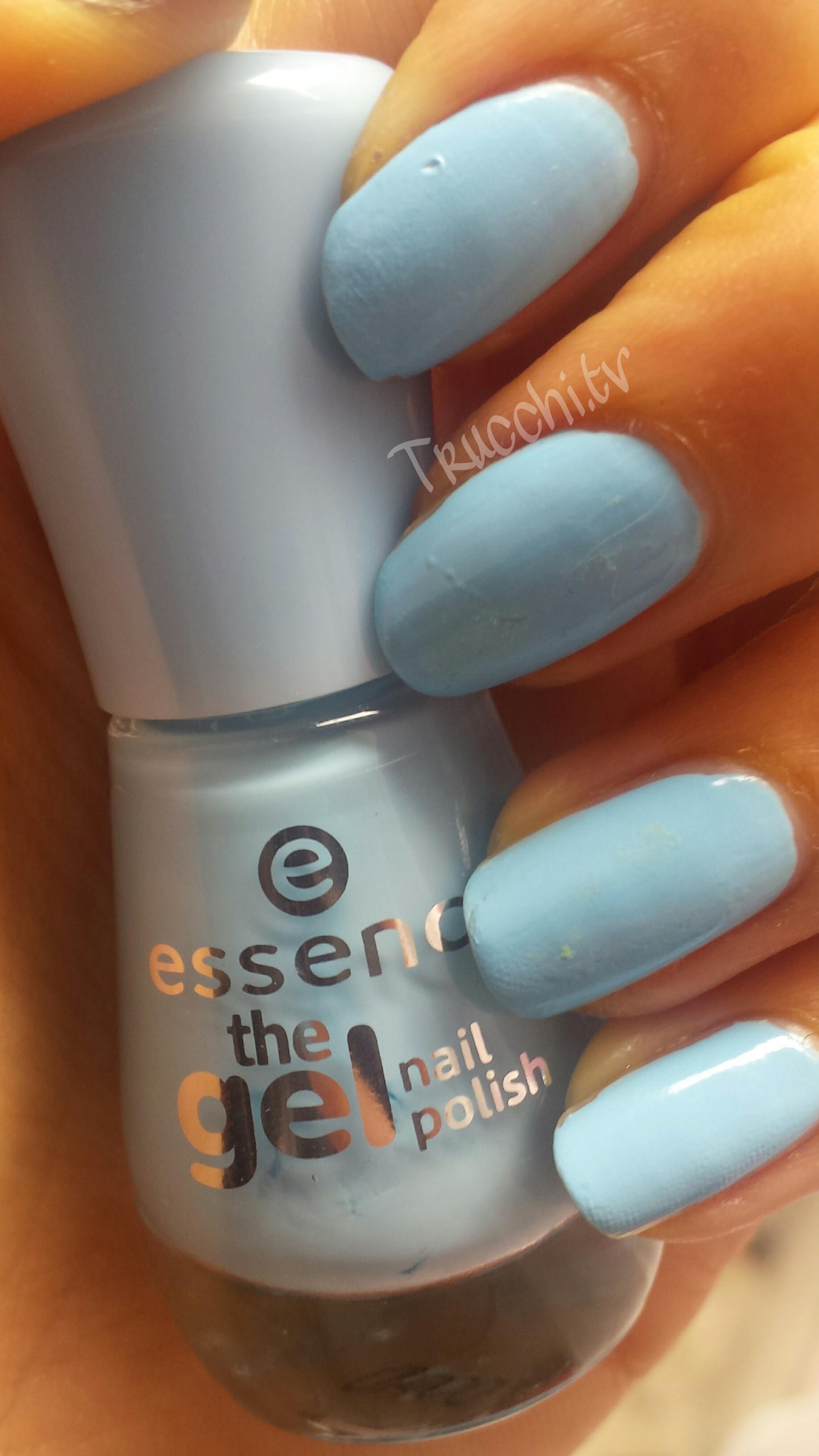 smalto essence the gel 39 blue bubble di blue
