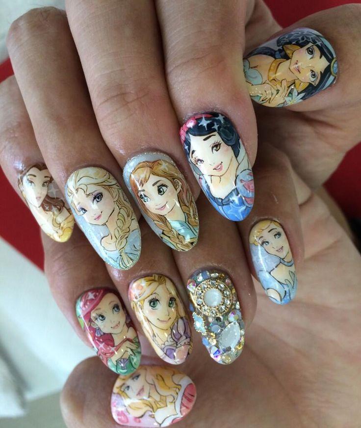 Nail Art Principesse Disney