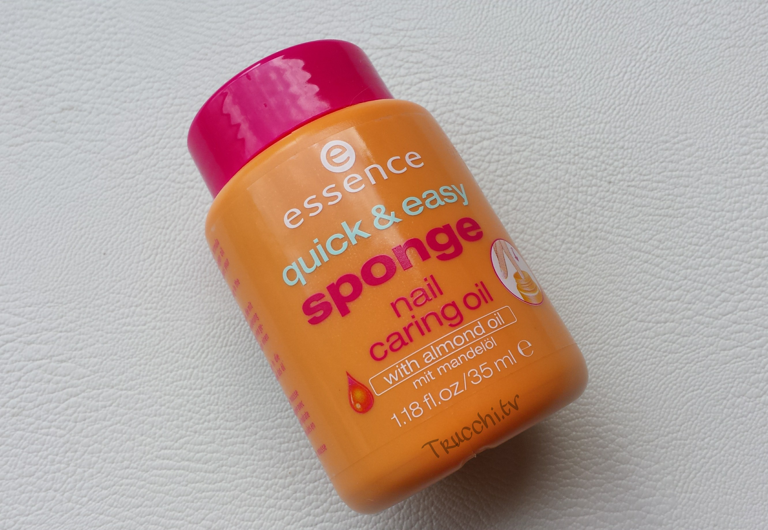 Essence Quick & Easy Sponge Nail Caring Oil -1