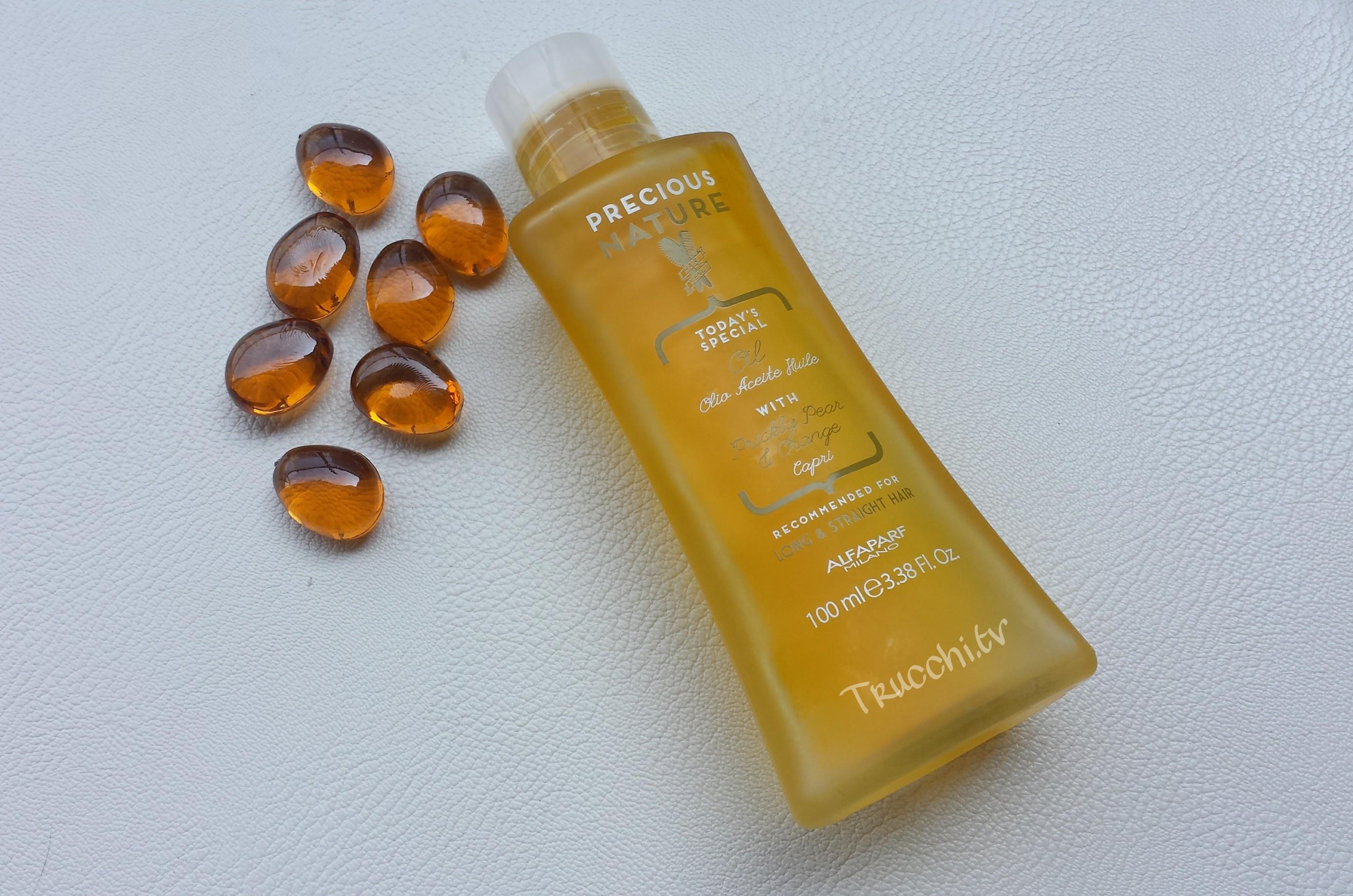Olio Nutriente per Capelli Alfaparf Precious Nature, olio capelli, capelli capricciosi, capelli ricci, Alfaparf, olio rigenerante