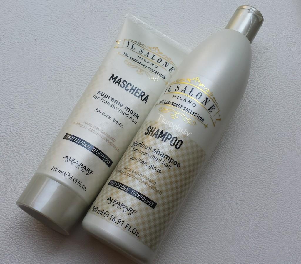 shampoo e maschera il salone alfaparf milano