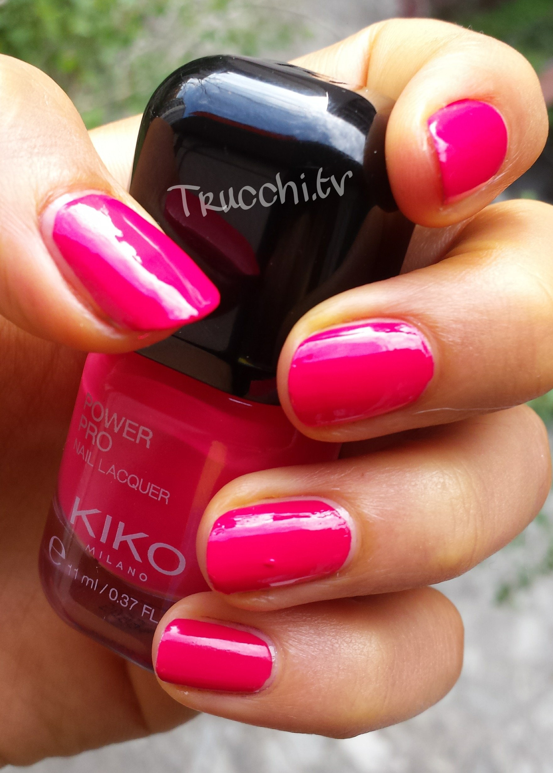 Review Smalto kiko Power Pro Nail Lacquer n°12 -3