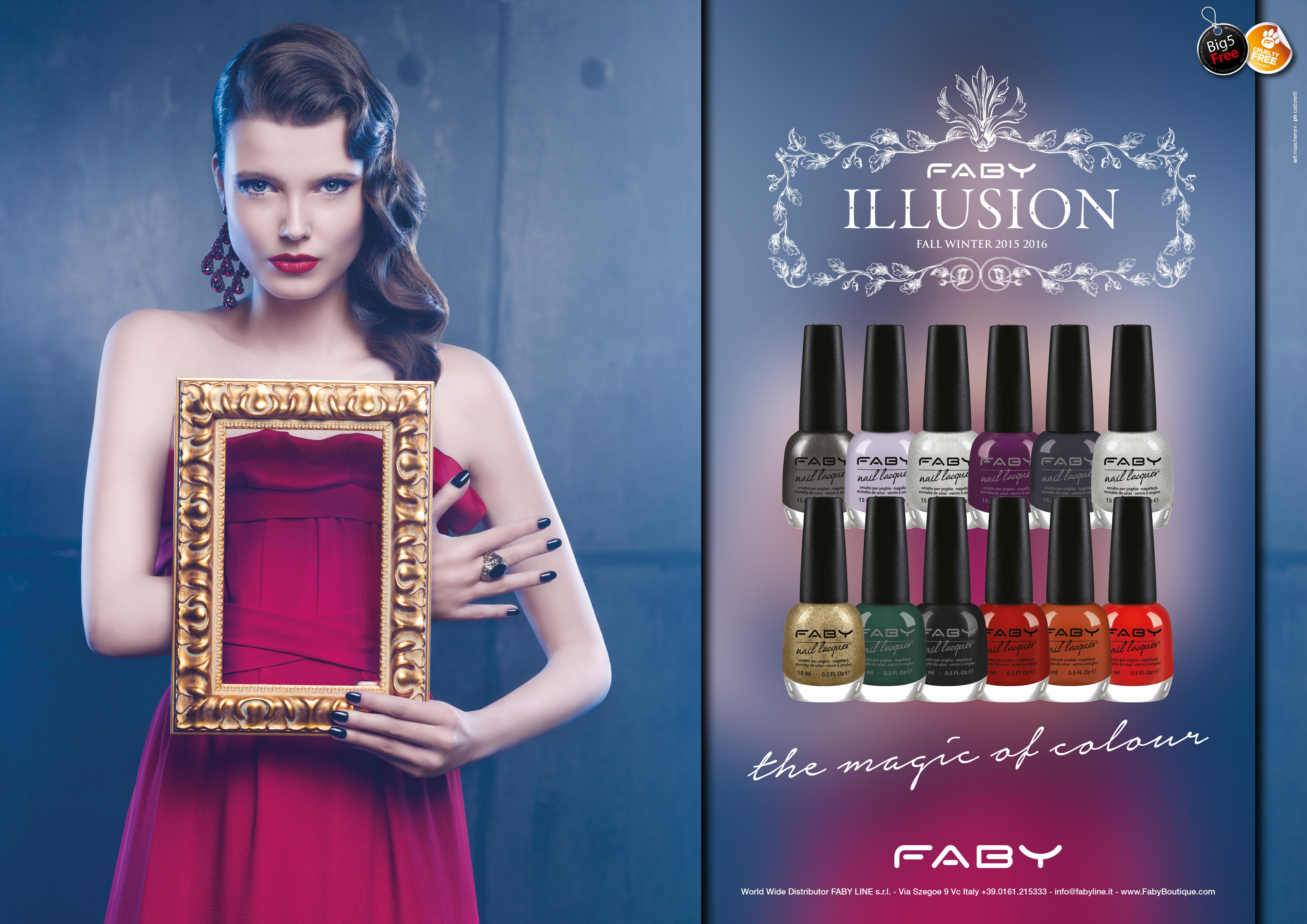 Nuova Collezione Smalti Faby Illusion Autunno 2015