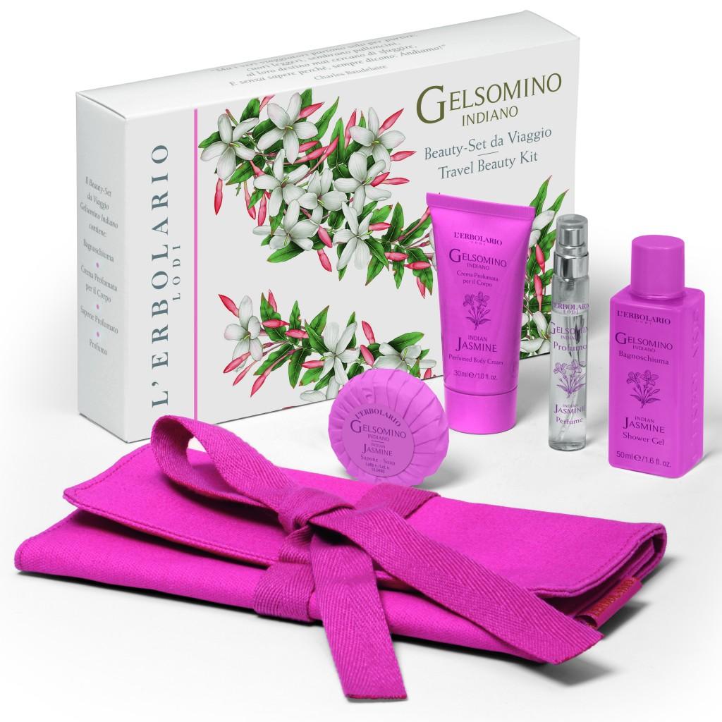 Erbolario Gelsomino Indiano Beauty set da viaggio