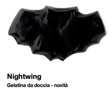 Lush Halloween 2015 Nightwing gelatina da docca