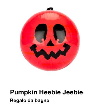 Lush Halloween 2015 Pumpkin Heebie Jeebie