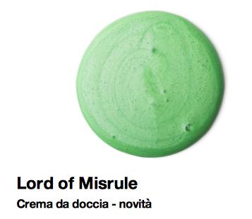 Lush Halloween 2015 lord of misrule crema da doccia