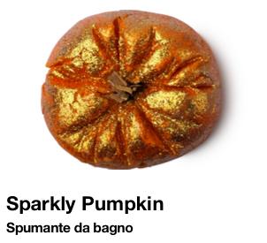 Lush Halloween 2015 sparkly pumpkin spumante da bagno