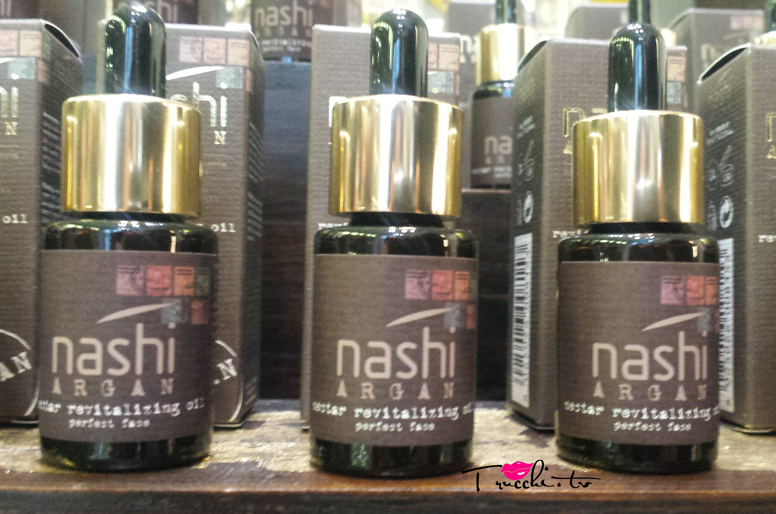 Nuovo Trattamento Rivitalizzante Nashi Argan Nectar Revitilizing Oil - Perfect face 1