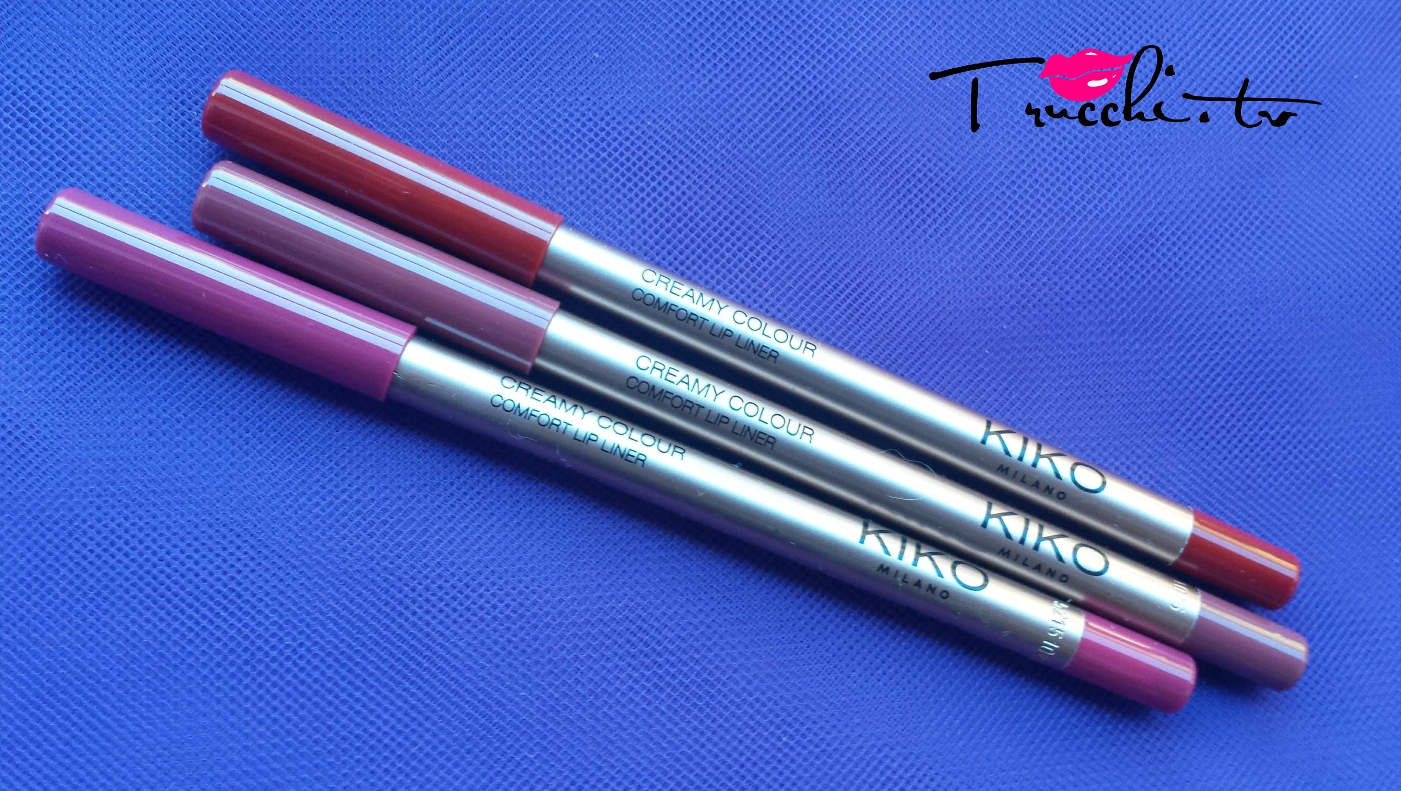 Review Matite Labbra Kiko Creamy Colour Comfort Lip Liner