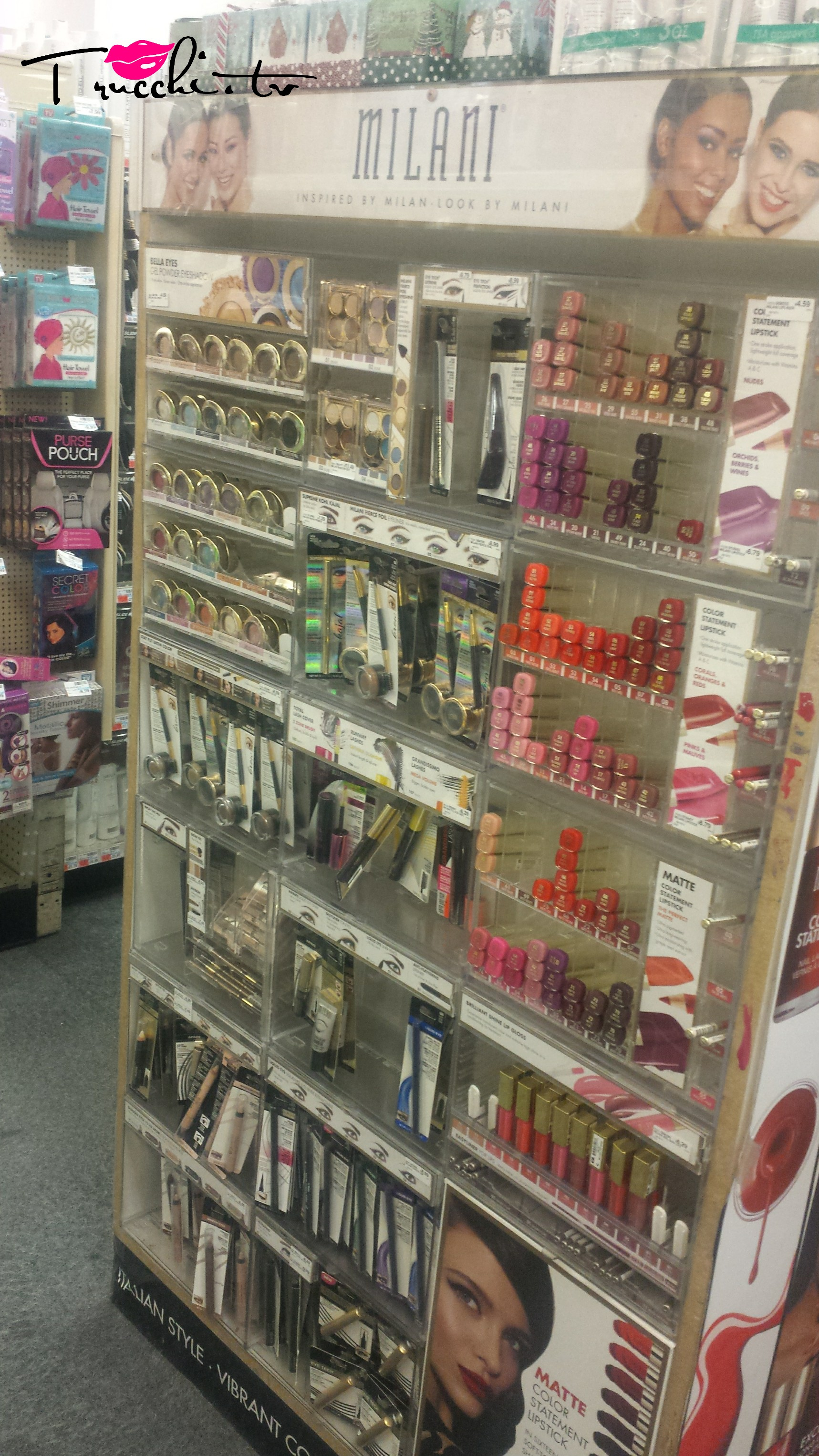 Guida Shopping Makeup New York - CVS Pharmacy Milani