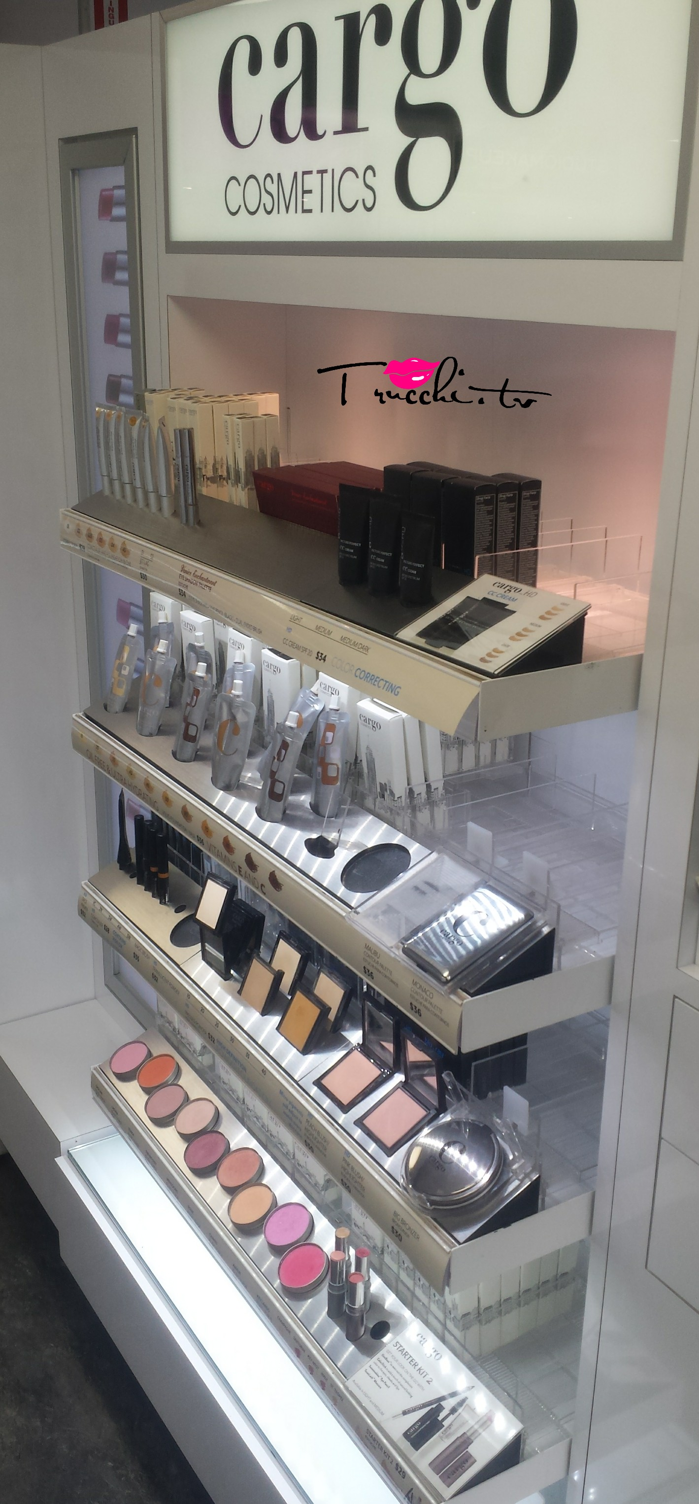 Guida Shopping Makeup New York - DUANEreade by Walgreens Cargo Cosmetics