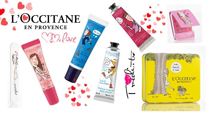 L'Occitane en Provence Baci & Abbracci San Valentino 2016