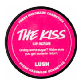 Lush Scrub Labbra Labbrasivo The Kiss