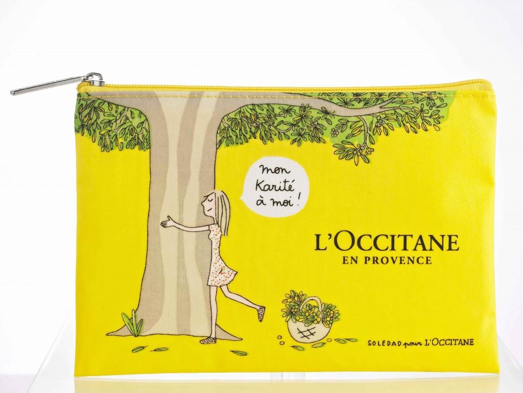 Pochette BACI&ABBRACCI_L'Occitane