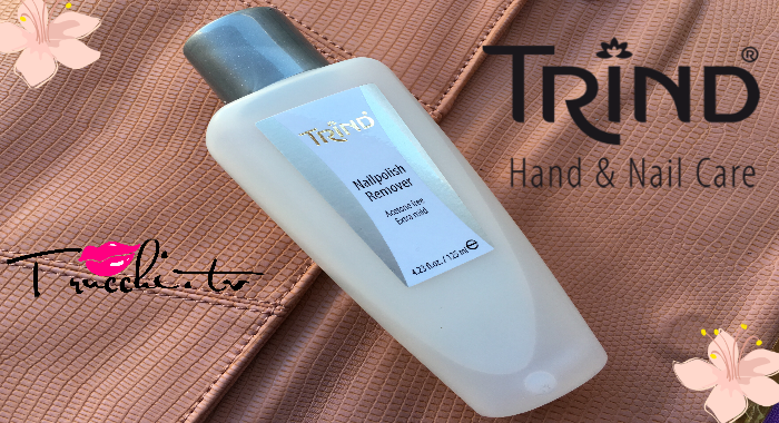 Review Solvente per Unghie TRIND Nail Polish Remover (acetone Free)