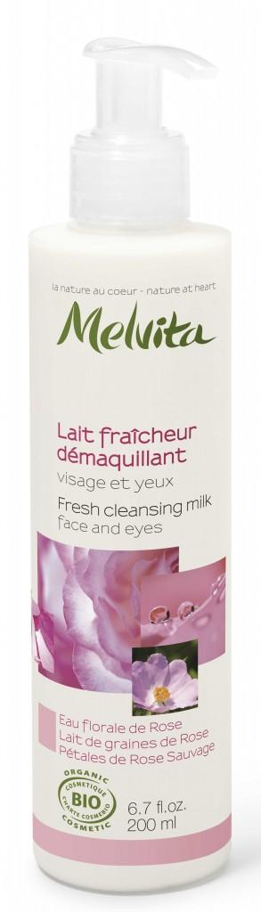 Latte Detergente NECTAR DE ROSES Melvita