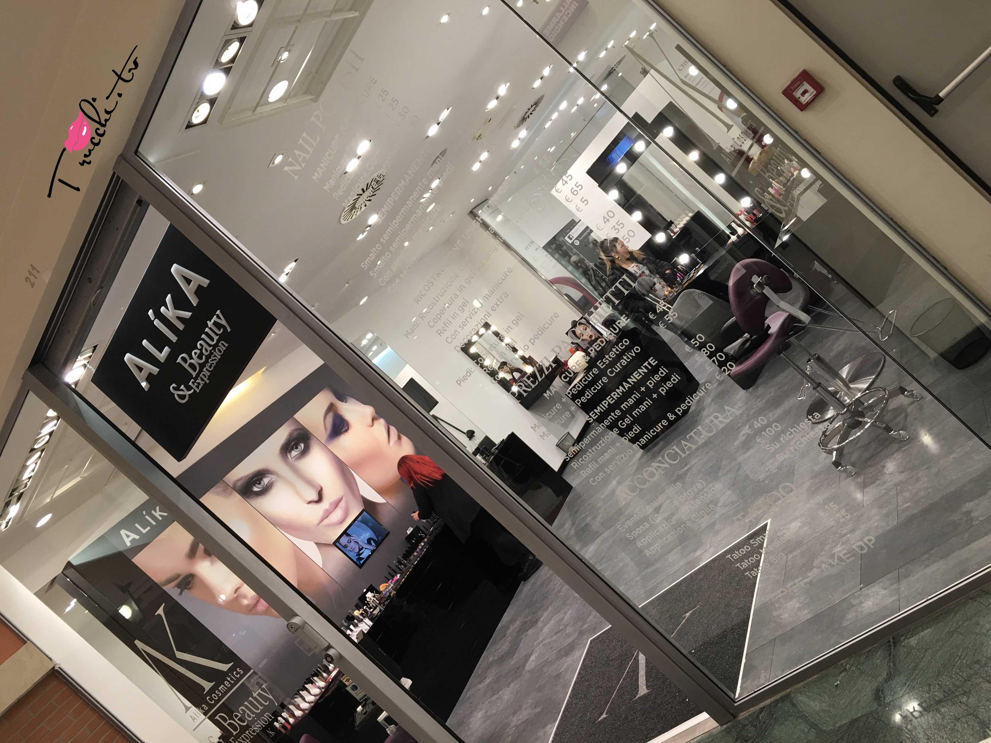 Nuovo Negozio Alika Cosmetics Beauty Expression