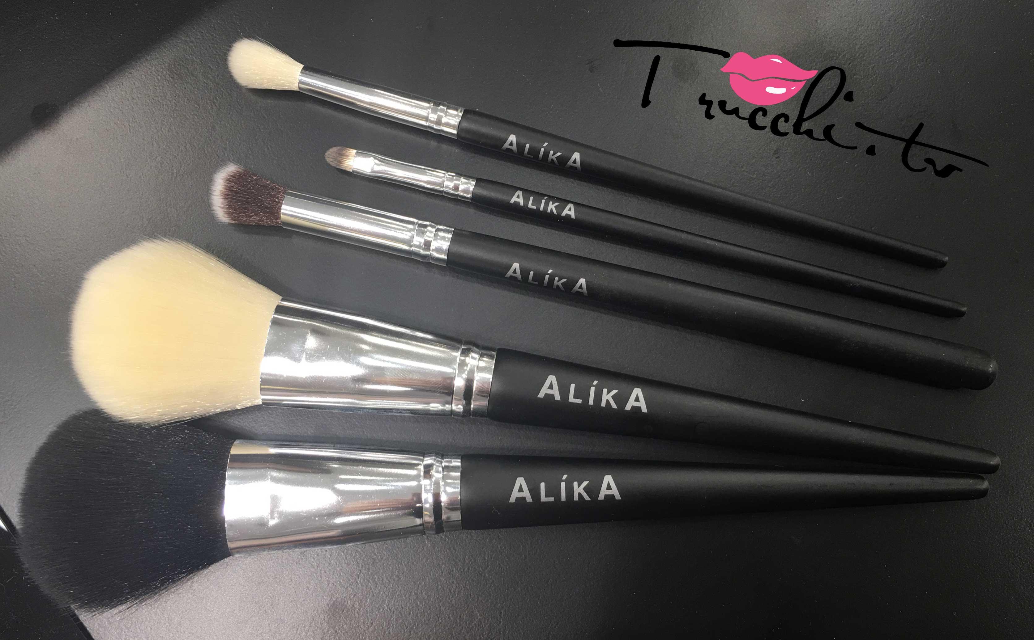 Nuovo negozio Alika Cosmetics - Pennelli Professionali