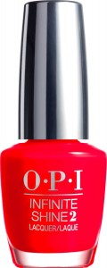 OPI infinte Shine Unrepentantly Red