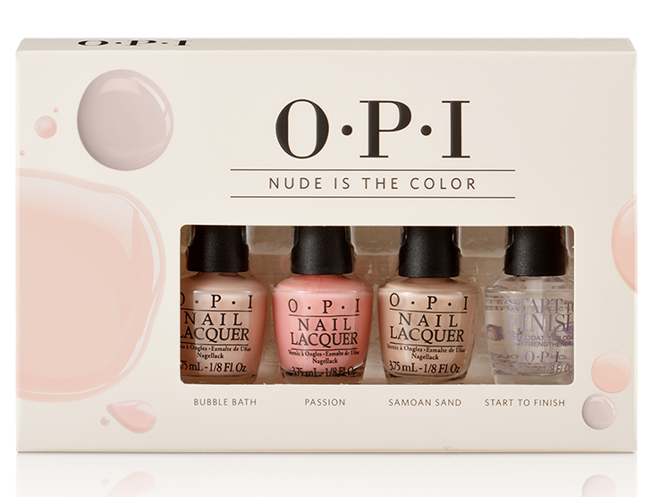 OPI Nude Is The Color