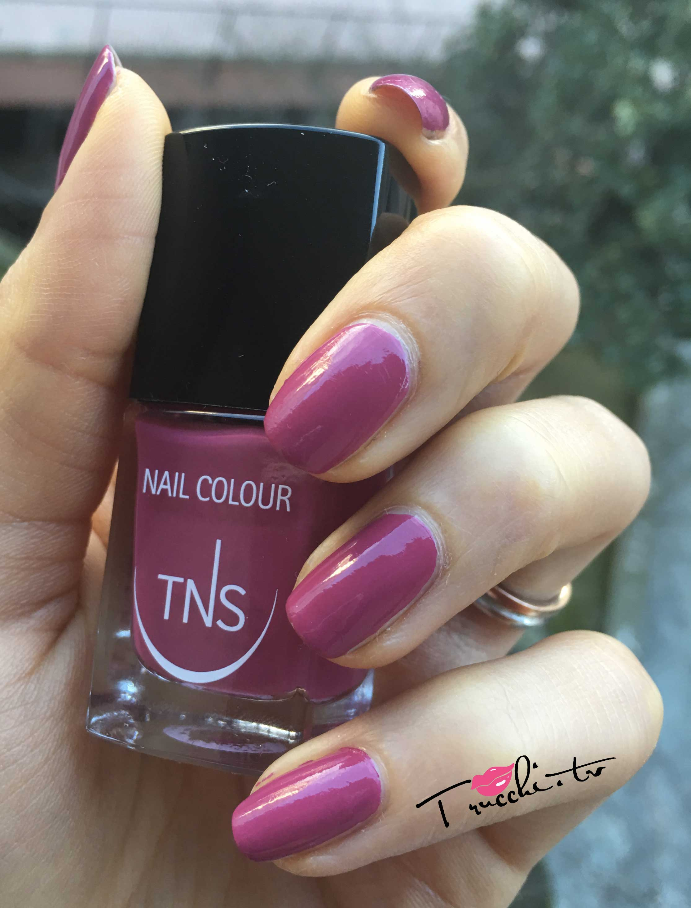 Tns Cosmetics Wild Flower Collection Primavera 2016 Smalti Fuchsia