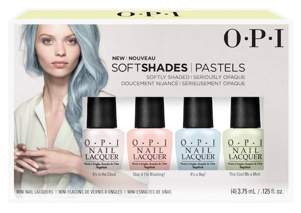 Collezione smalti opi Soft Shades Pastels Primavera 2016