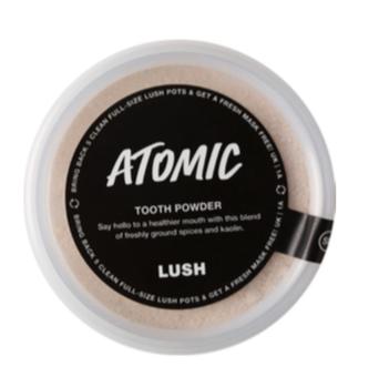 Lush Atomic Lavadenti in polvere