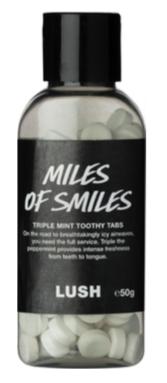 Lush Miles of Smiles Lavadenti in pastiglie