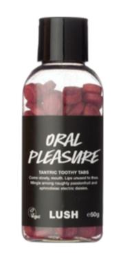 Lush Oral Pleasure Lavadenti in pastiglie