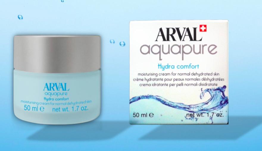 Arval Hydra Comfort Crema Idratante per Pelli Normali e Disidratate