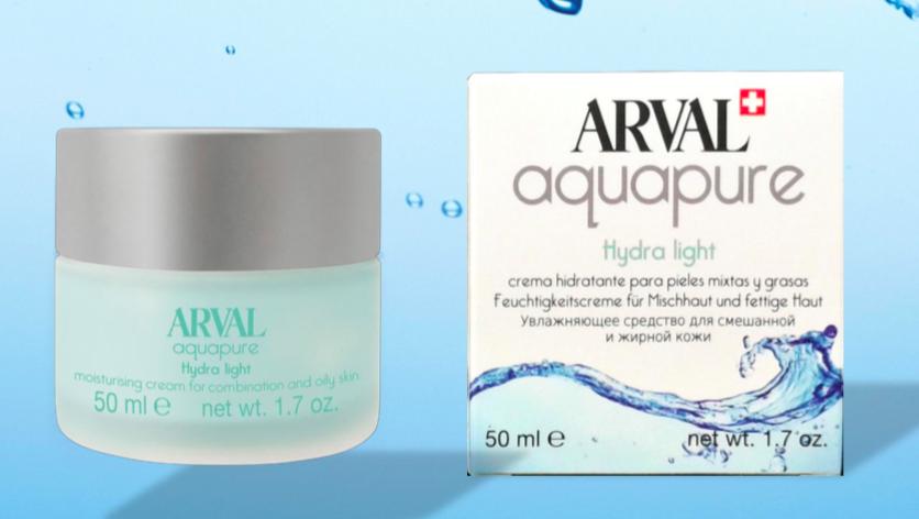 Arval Hydra Light Crema Idratante per Pelli Miste e Grasse