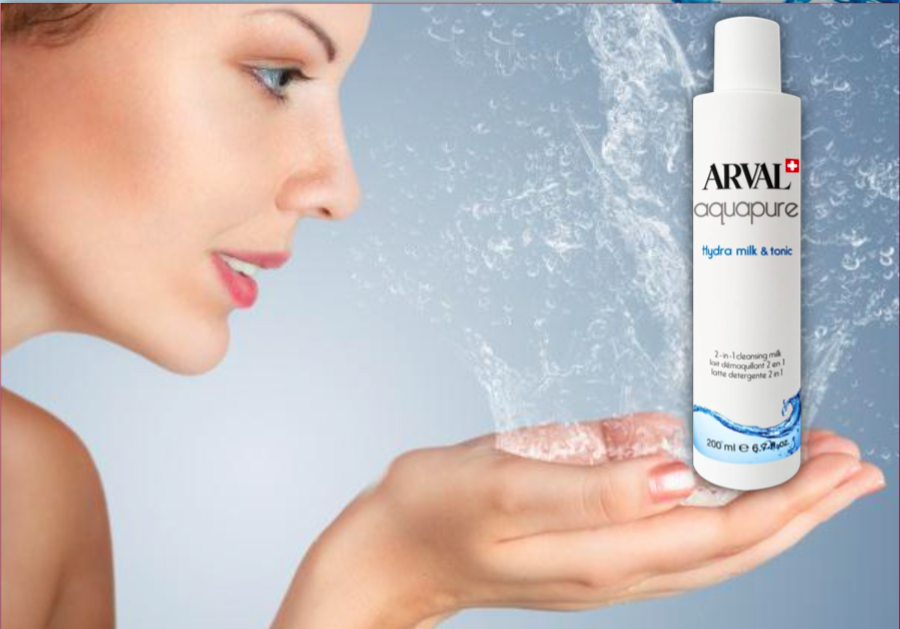 Arval Hydra Milk & Tonic Latte Detergente 2in1