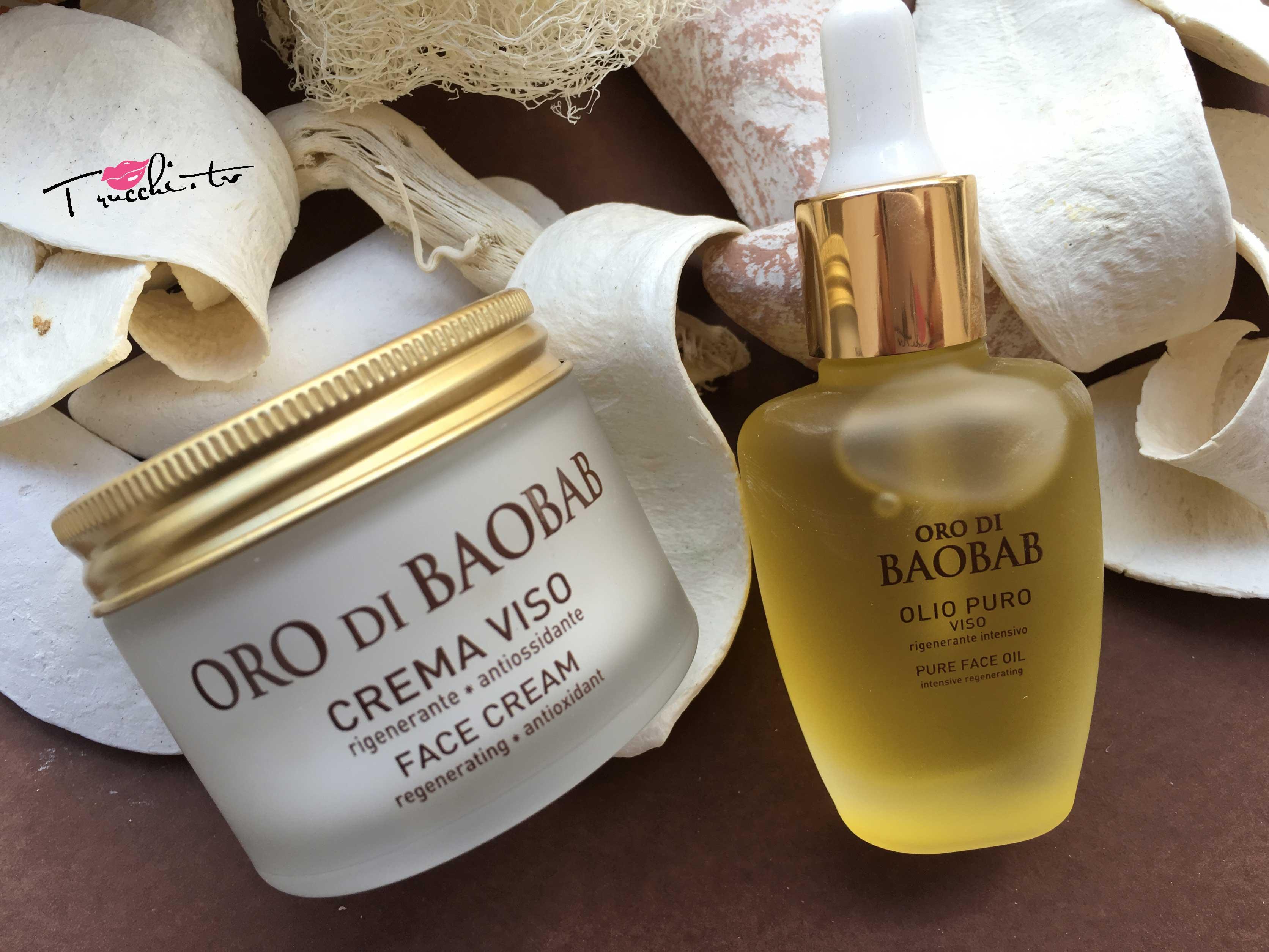 Erboristica di Athena's Oro di Baobab Crema Viso e Olio Puro Viso