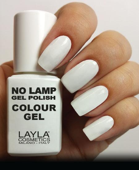 Layla No Lamp Gel Polish Straight White