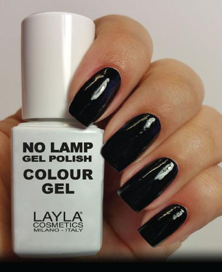 Layla No Lamp Gel Polish Carbon Black