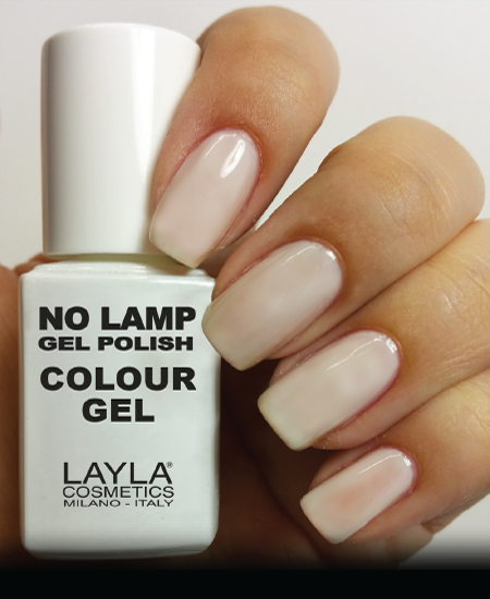 Layla No Lamp Gel Polish Just Like Milk
