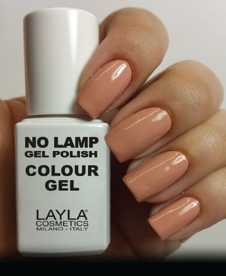 Layla No Lamp Gel Polish Lazy Brown